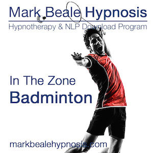 Badminton hypnosis mental game inner psychology
