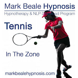 Tennis hypnosis inner game mental game psychology
