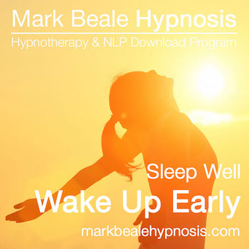 wake up early hypnosis