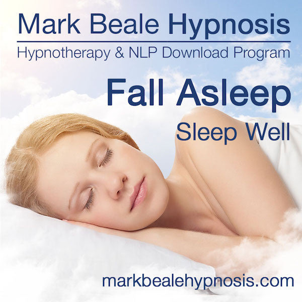 hypnosis for sleep hypnotherapy to fall asleep