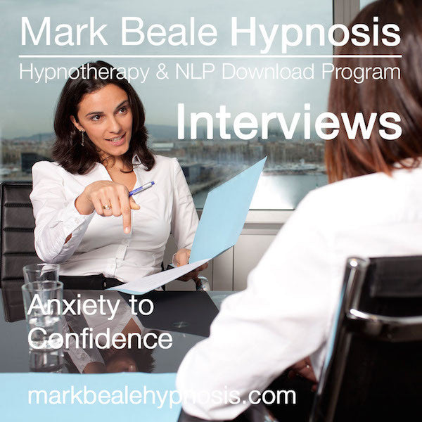 Interview nerves hypnosis anxiety confident mp3