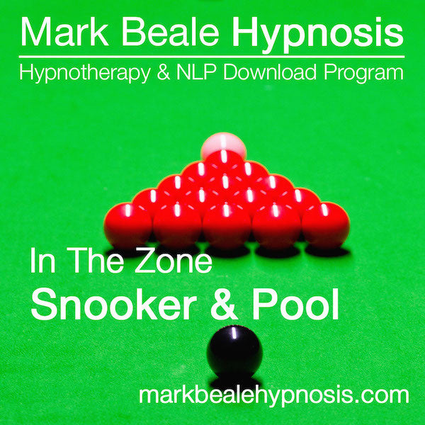 Snooker hypnosis mental game and inner game psychology