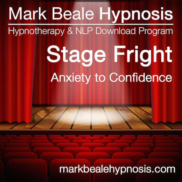 stage fright nerves hypnosis overcoming performance anxiety confidence audio download