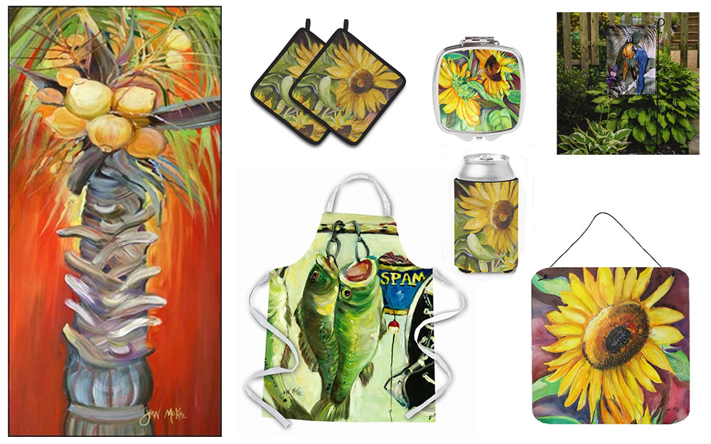functional products featuring Artwork by jean McKee