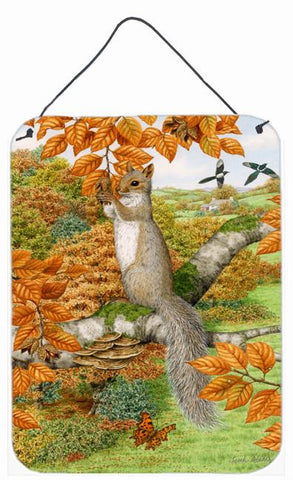 Buy this Grey Squirrel Wall or Door Hanging Prints ASA2074DS1216
