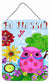 Be Blessed Owl Wall or Door Hanging Prints PJC1026DS1216 by Caroline's Treasures