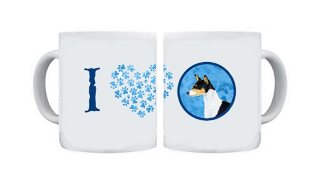 Basenji  Dishwasher Safe Microwavable Ceramic Coffee Mug 15 ounce SS4790 by Caroline's Treasures