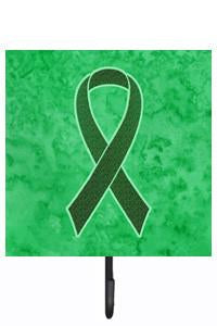 Emerald Green Ribbon for Liver Cancer Awareness Leash or Key Holder AN1221SH4 by Caroline's Treasures