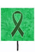 Buy this Emerald Green Ribbon for Liver Cancer Awareness Leash or Key Holder AN1221SH4