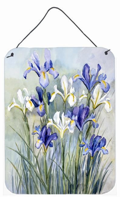 Iris by Bettie Cheesman Wall or Door Hanging Prints CBC0033DS1216 by Caroline's Treasures