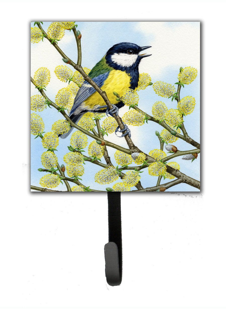 Buy this Eurasian Blue Tit by Sarah Adams Leash or Key Holder ASAD0777SH4