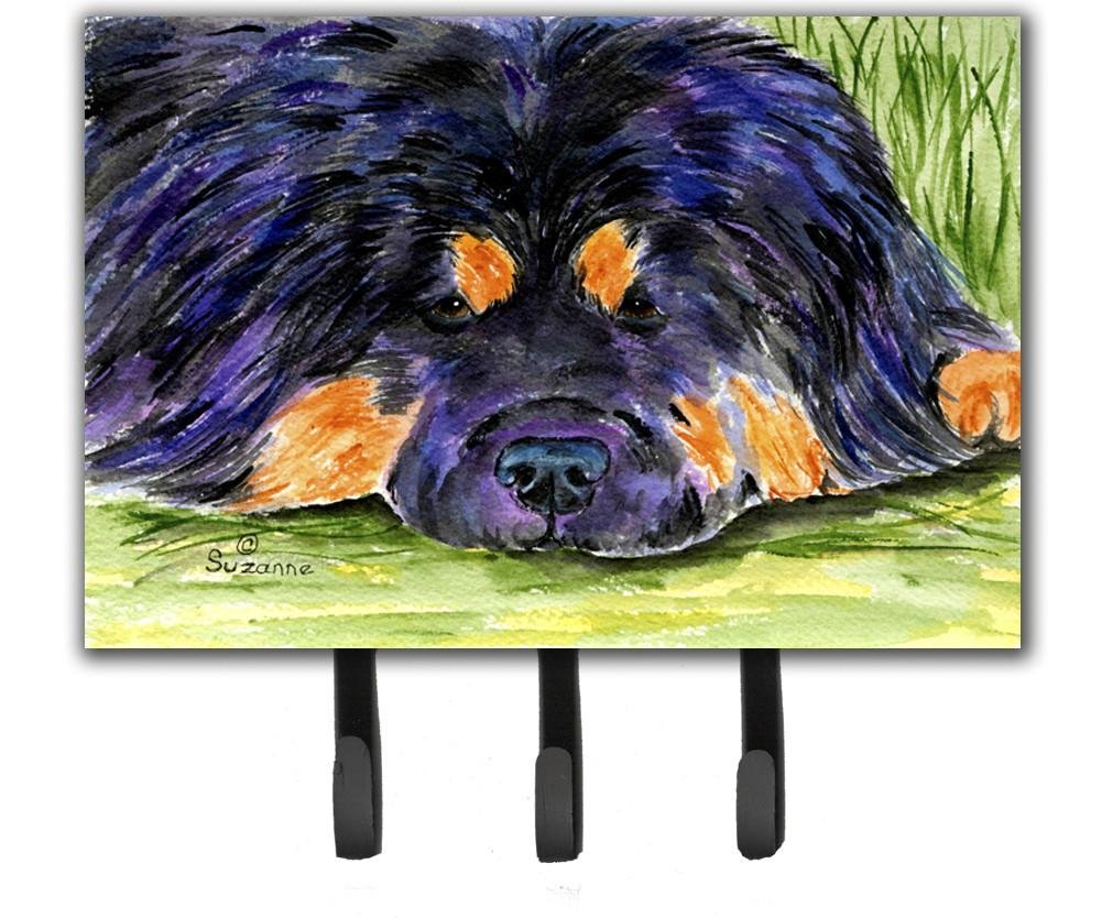 Tibetan Mastiff Leash Holder or Key Hook by Caroline's Treasures