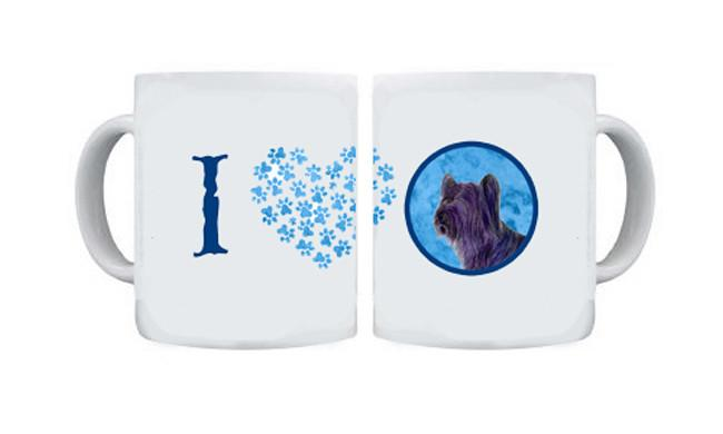 Buy this Skye Terrier  Dishwasher Safe Microwavable Ceramic Coffee Mug 15 ounce SS4739
