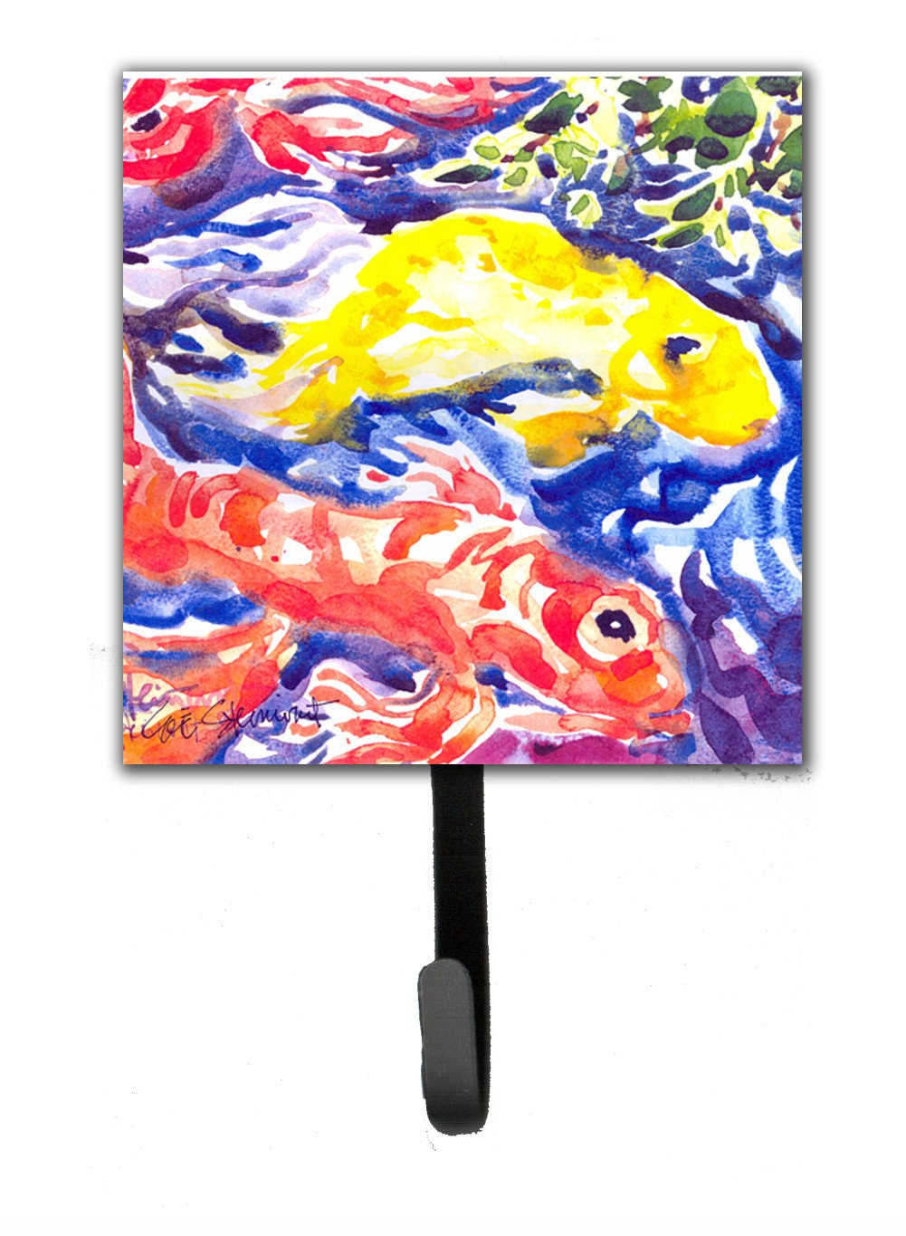 Buy this Fish - Koi in the pond Leash Holder or Key Hook