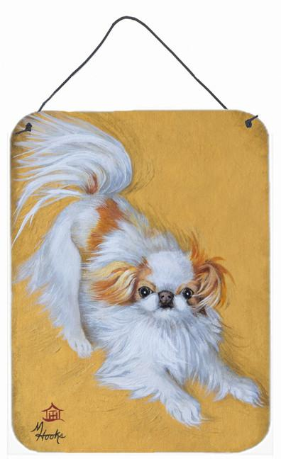 Japanese Chin Red White Play Wall or Door Hanging Prints MH1033DS1216 by Caroline's Treasures