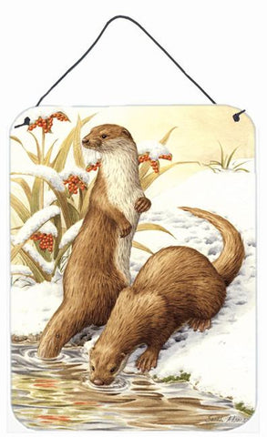 Buy this Otters & Gladon Irises Wall or Door Hanging Prints ASA2005DS1216