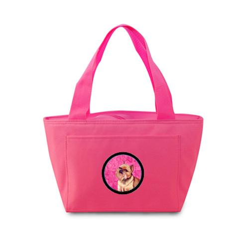 Pink Brussels Griffon  Lunch Bag or Doggie Bag LH9359PK by Caroline's Treasures