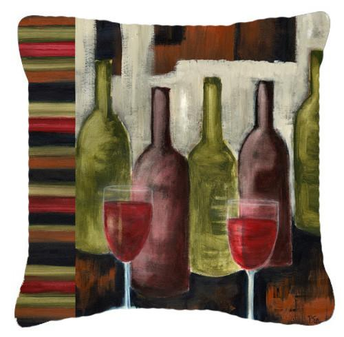 Buy this Red Wine by Petrina Sutton Canvas Decorative Pillow PET216APW1414