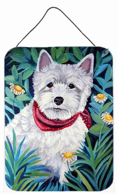 Westie Aluminium Metal Wall or Door Hanging Prints by Caroline's Treasures
