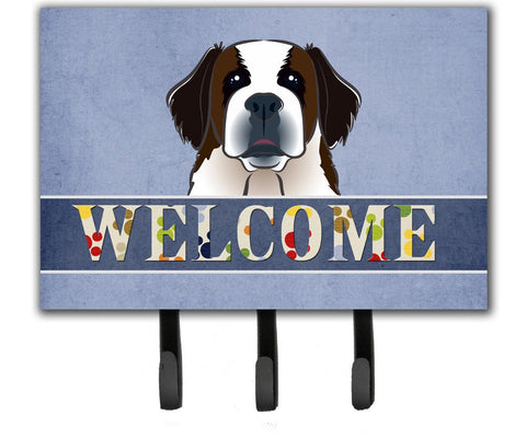 Buy this Saint Bernard Welcome Leash or Key Holder BB1432TH68