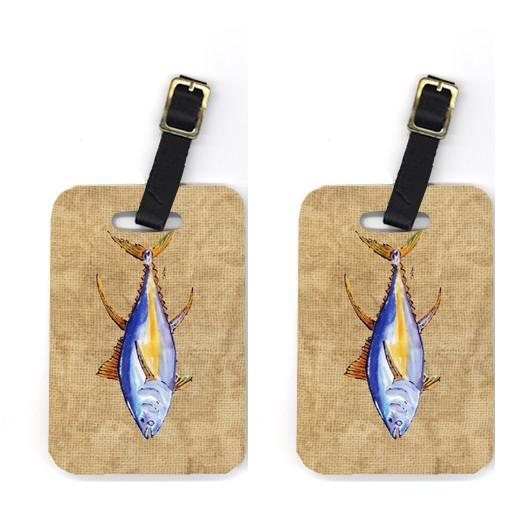 Buy this Pair of Tuna Fish Luggage Tags