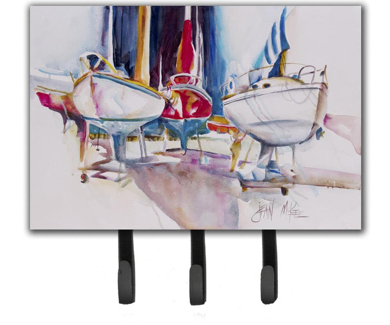 Buy this Sailboats in Dry Dock Leash or Key Holder JMK1039TH68