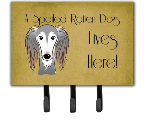 Buy this Saluki Spoiled Dog Lives Here Leash or Key Holder BB1477TH68