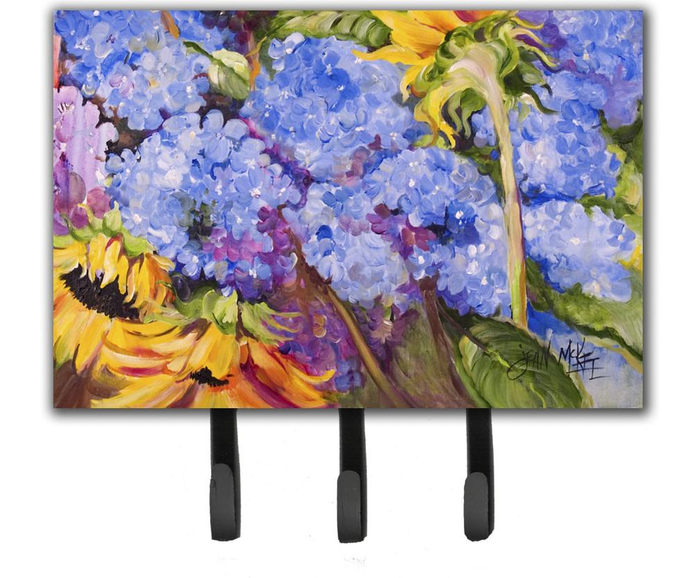 Buy this Hydrangeas and Sunflowers Leash or Key Holder JMK1119TH68
