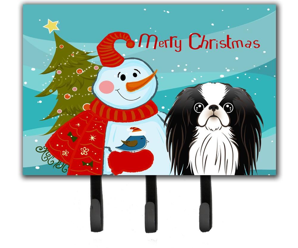 Snowman with Japanese Chin Leash or Key Holder BB1850TH68 by Caroline's Treasures