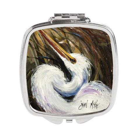 Buy this White Egret Compact Mirror JMK1214SCM