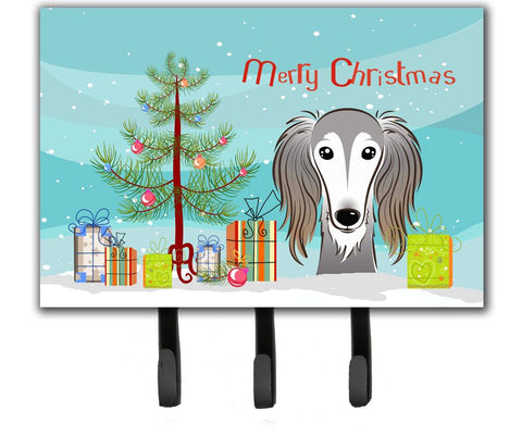 Buy this Christmas Tree and Saluki Leash or Key Holder BB1601TH68