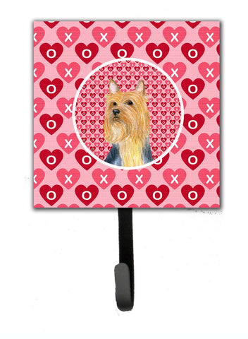 Buy this Silky Terrier Valentine's Love and Hearts Leash or Key Holder