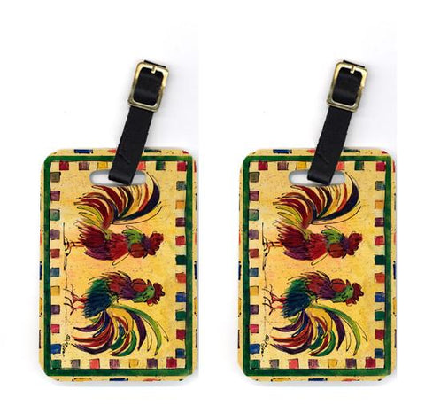 Buy this Pair of Bird - Rooster Luggage Tags