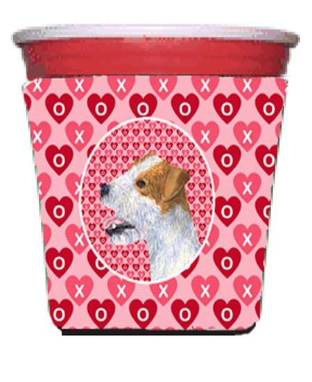 Buy this Jack Russell Terrier  Red Solo Cup Beverage Insulator Hugger