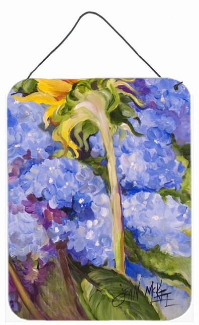 Buy this Hydrangea and Sunflower Wall or Door Hanging Prints JMK1174DS1216