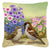 Buy this House Sparrows Feeding Time Canvas Decorative Pillow ASAD0700PW1414