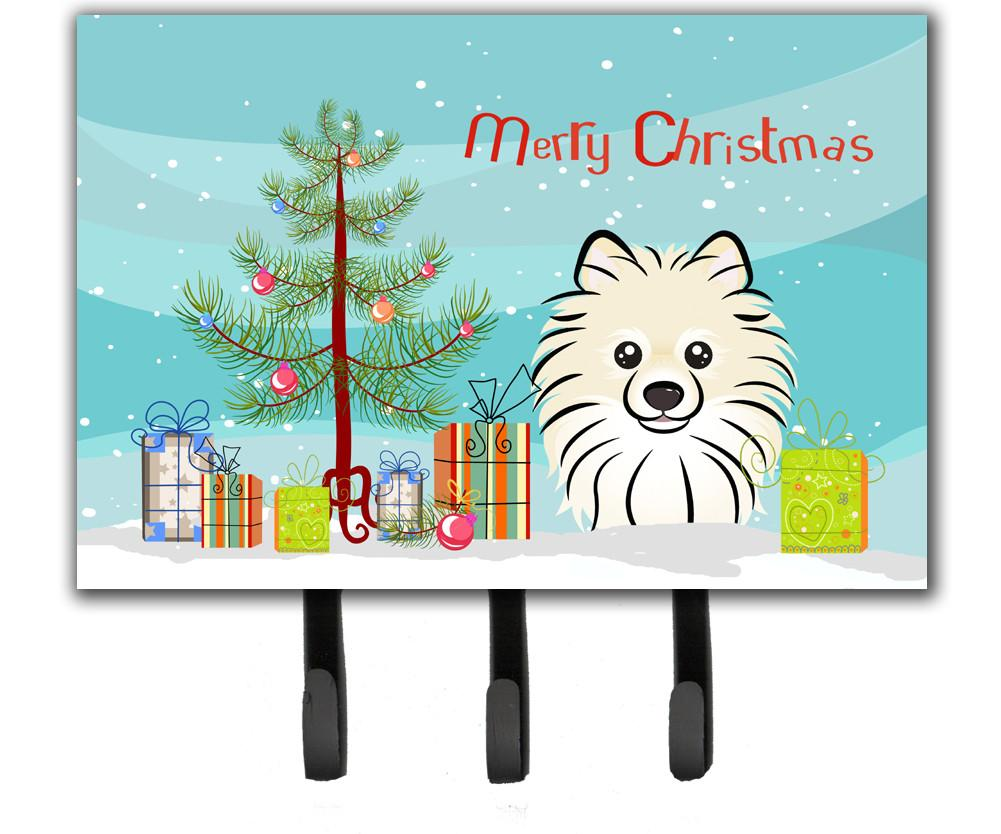 Christmas Tree and Pomeranian Leash or Key Holder BB1579TH68 by Caroline's Treasures