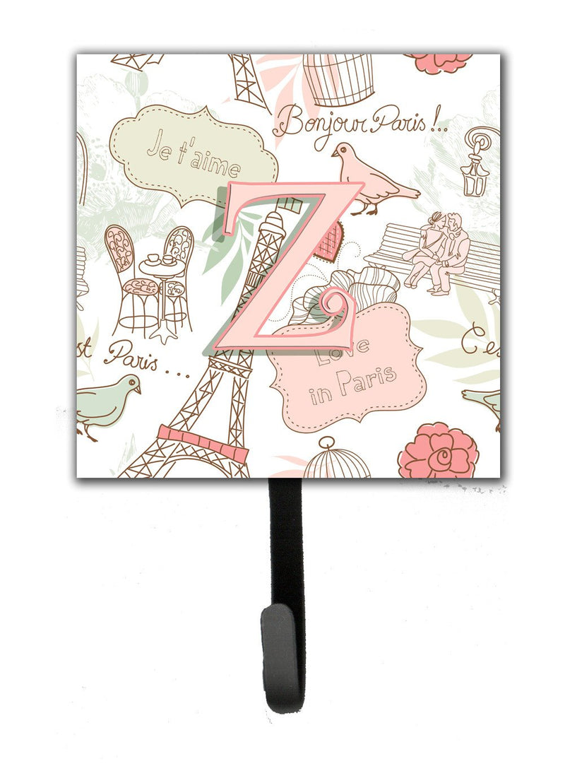 Buy this Letter Z Love in Paris Pink Leash or Key Holder CJ2002-ZSH4