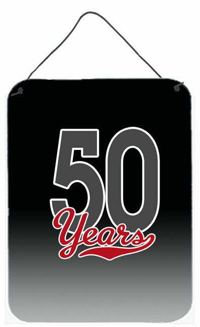 Buy this 50 Years Wall or Door Hanging Prints CJ1087DS1216