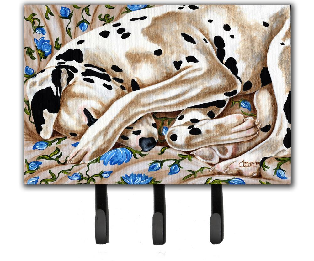 Bed of Roses Dalmatian Leash or Key Holder AMB1407TH68 by Caroline's Treasures