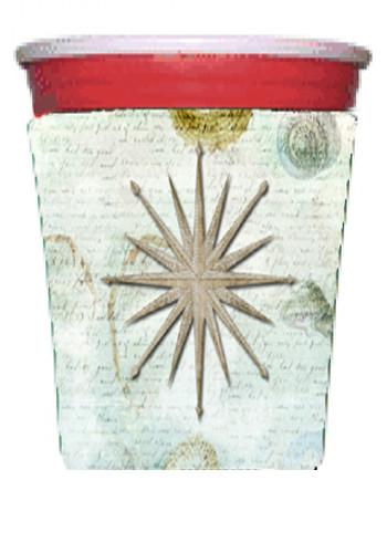 Shells Navagation Star Red Solo Cup Beverage Insulator Hugger by Caroline's Treasures