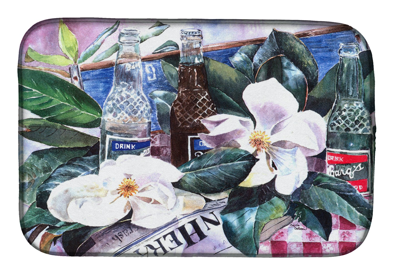 Buy this Barq's and Magnolia Dish Drying Mat 1009DDM