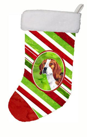 Buy this Beagle Candy Cane Holiday Christmas  Christmas Stocking SC9329