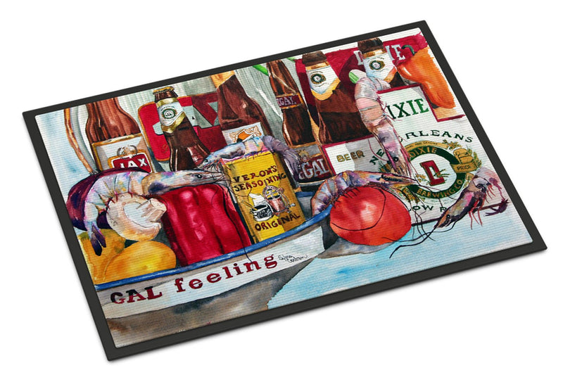 Buy this Veron's and New Orleans Beers Indoor or Outdoor Mat 18x27 Doormat