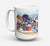 Buy this Sports on the Beach Dishwasher Safe Microwavable Ceramic Coffee Mug 15 ounce 1011CM15