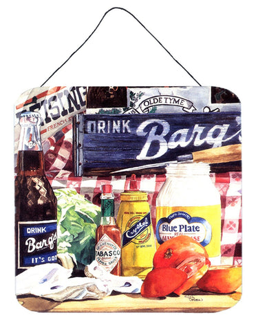 Buy this Blue Plate Mayonaise, Barq's and a tomato sandwich Wall or Door Hanging Prints