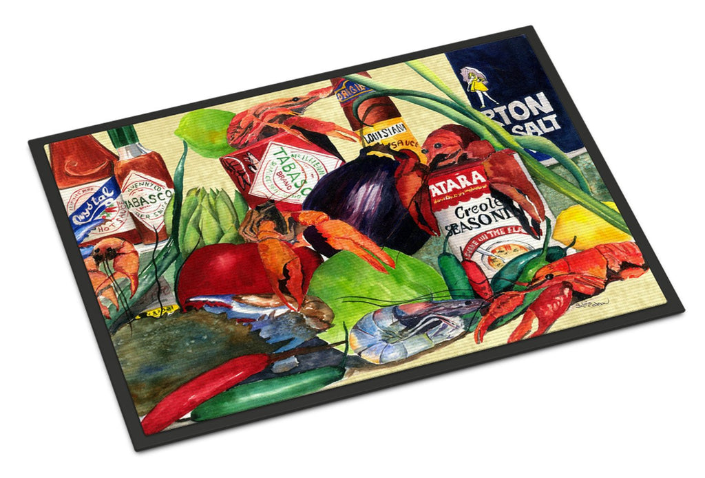 Buy this Spices and Crawfish Indoor or Outdoor Mat 18x27 Doormat