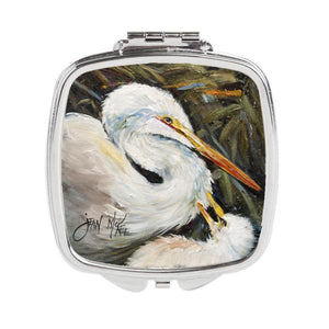 Buy this White Egret Compact Mirror JMK1227SCM