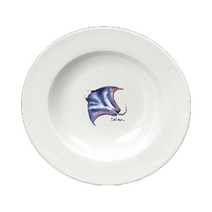 Buy this Stingray Round Ceramic White Soup Bowl 8353-SBW-825