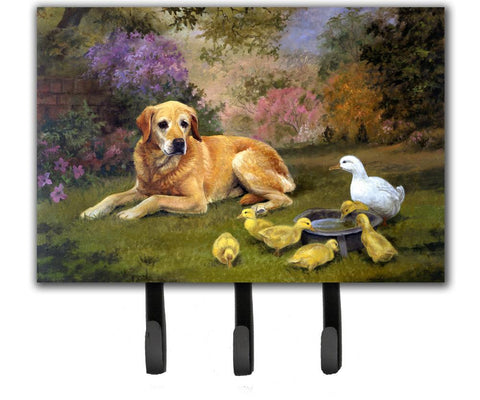 Buy this Yellow Labrador and Chicks Leash or Key Holder HEH0096TH68
